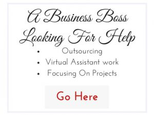 A Business Boss Looking For Help
