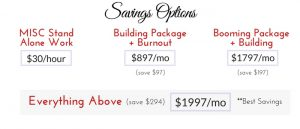 Savings Options For VA Packages