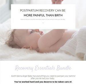Recovery Bundle Landing Page
