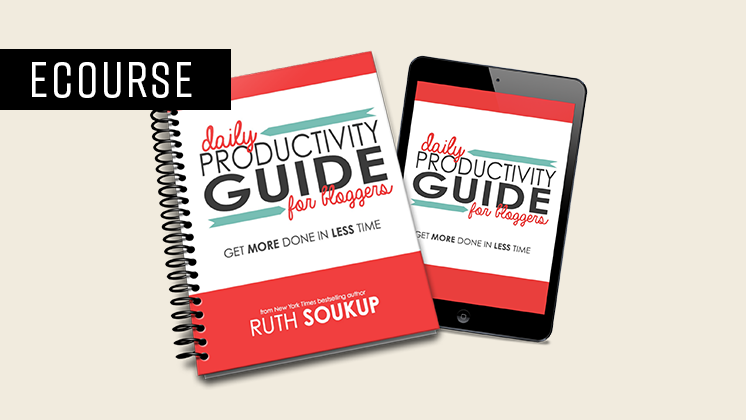 Daily Productivity Guide For Bloggers