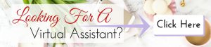 Looking For A Virtual Assistant Banner